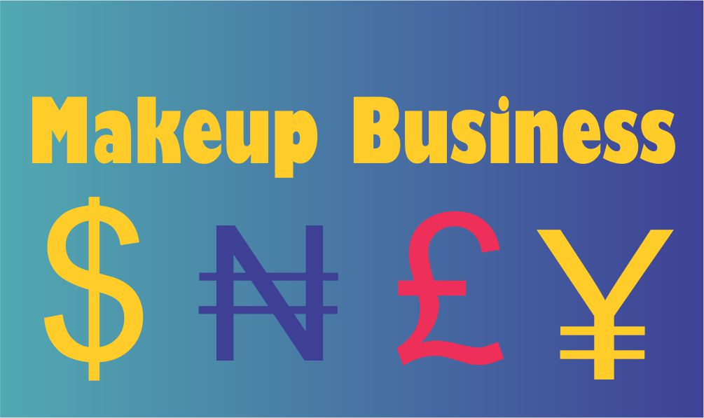 makeup business start up