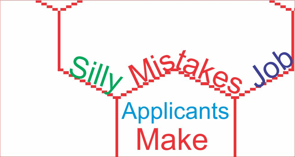 Silly mistakes job applicants make