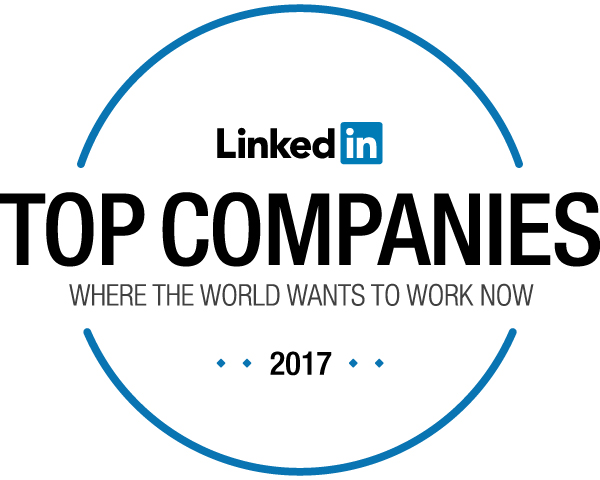 linkedIn 25 top world companies to work for